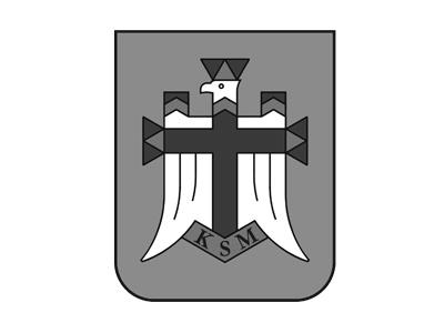 logo_ksm czarno biały